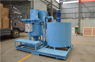 grouting mixing equipment