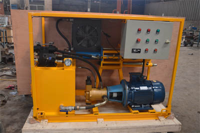 Grouting pump for foundation
