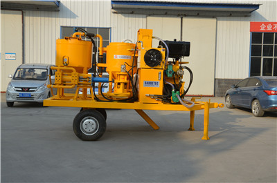 grout equipment for cement