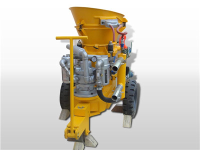 air motor driven shotcrete machine