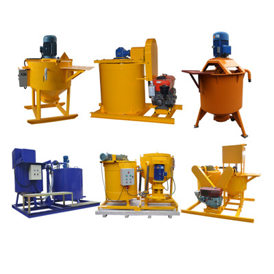 grout mixer for making cement paste