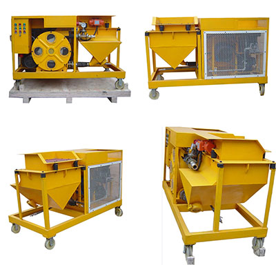 mortar spraying machine price