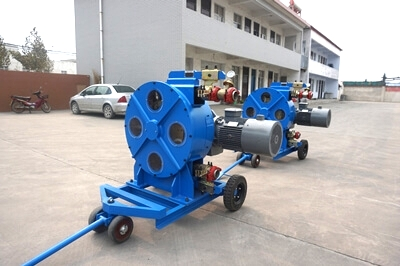 LH76-775B hose pump with wheels