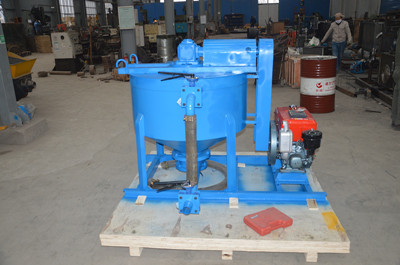 Cement grouting mixer machine