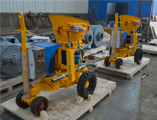 electric motor drive shotcrete machine