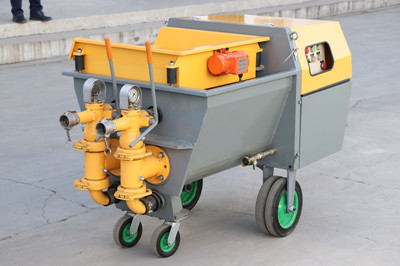 Details about China Mortar Spraying Pump