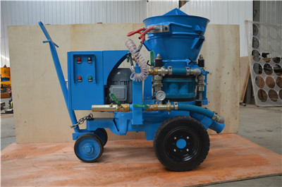 refractory rotary gunite machine