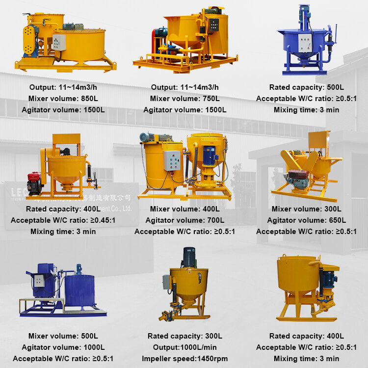 colloidal grout mixer Indonesia