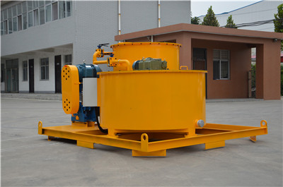 high speed grout mixer for cement grouting