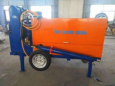 foam concrete machine for roofing