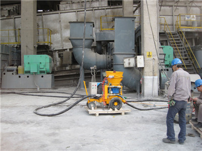 air driven shotcrete machine