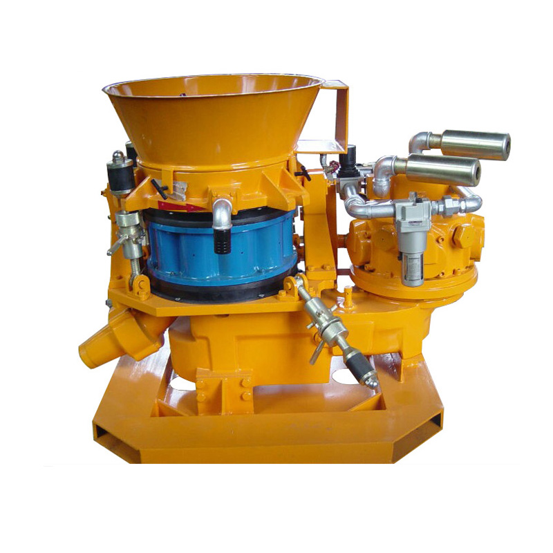 air motor dry concrete mix gunite machine