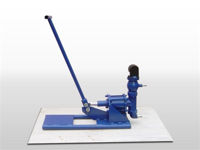 hand operated grout machine