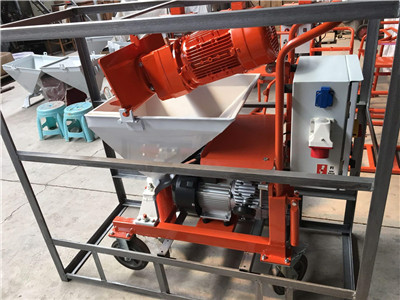 mortar spraying machine made in China