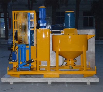 Mixing grouting plant