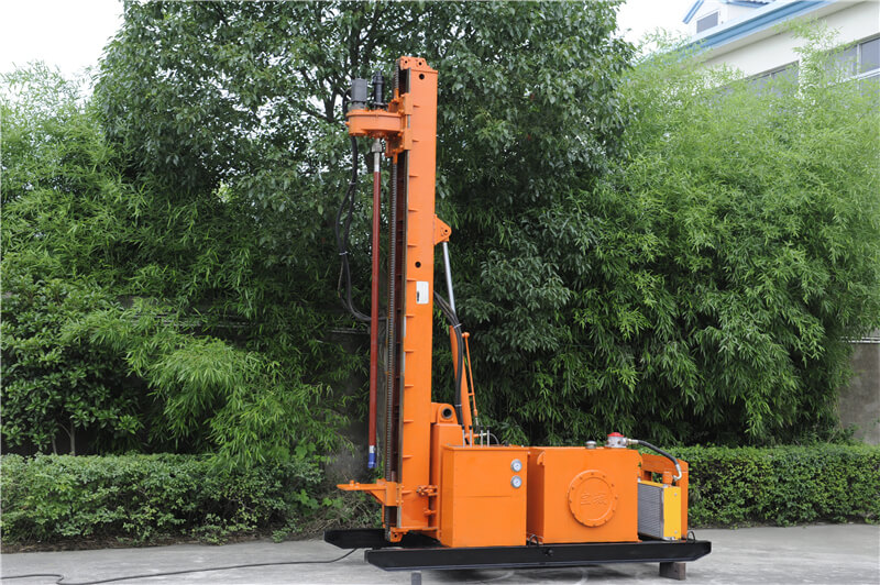 Engineering power head drilling rig