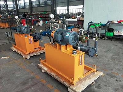 electrical grouting pump