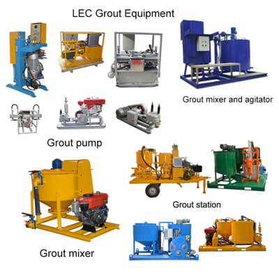 grouting pumps in engineering grouting