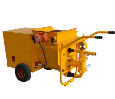 automatic cement plastering machine