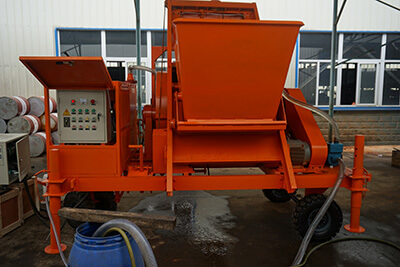 LD2000 foam concrete mixer machine