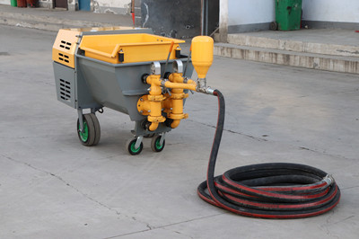 cement mortar plastering machine