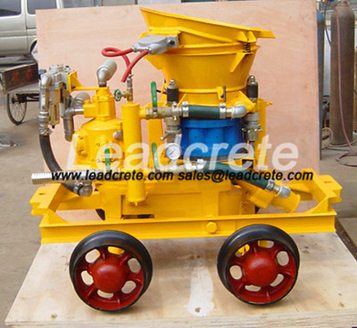 shotcrete machine used in Mine