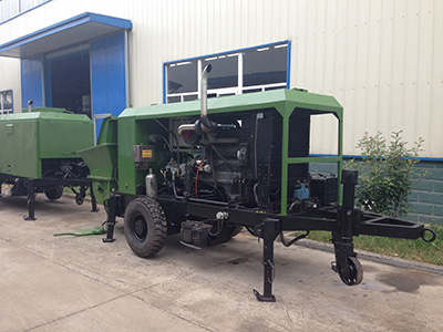 soil wet spraying machine