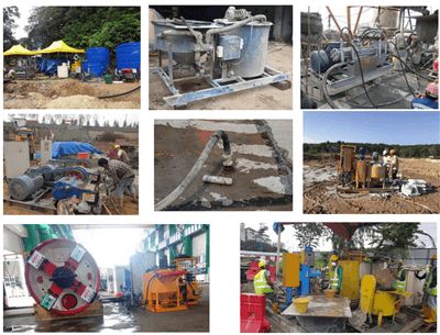injection grouting pumps Indonesia