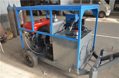 China diesel hydraulic power pack