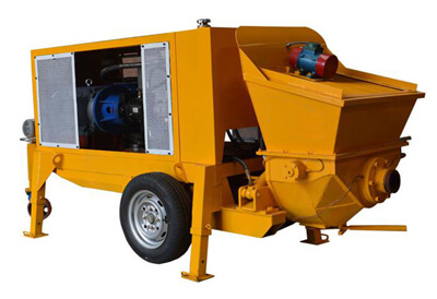 LPS-7A wet mix shotcrete machine