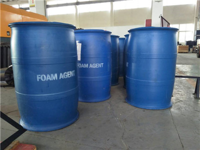 Foam agent for cast-in-place