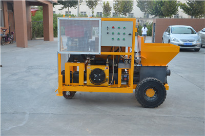 Small concrete pump