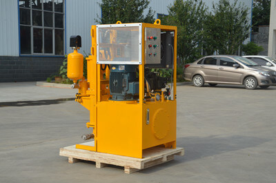 mobile grouting pump for cement