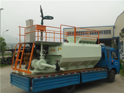China hydro seeding machine