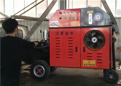 automatic concrete pump