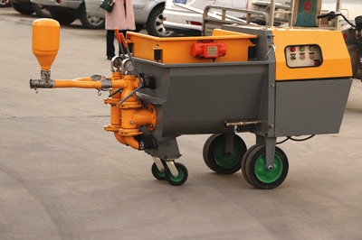 plaster machine for sale to Philippines