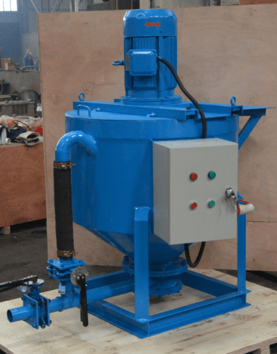 grout mixer for grouting application