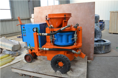 Rotary gunite machine price