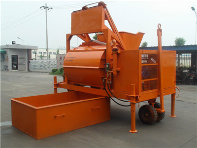 CLC foam concrete mixer for cast-in-situ wall