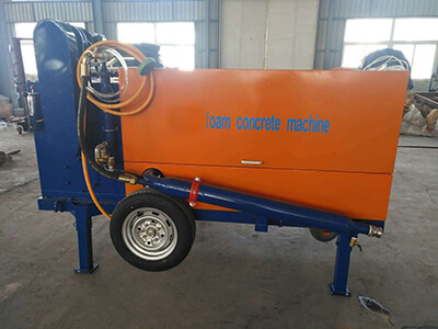 foam concrete machine for backfilling