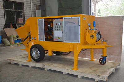 LPS-7A wet shotcrete machine