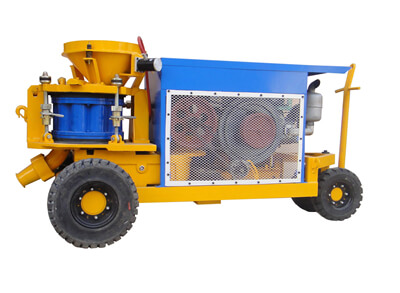 LZ-9 dry mix shotcrete machine