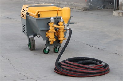 electric mortar spraying machine for wall