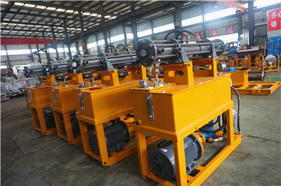 hydraulic grout pumps factory