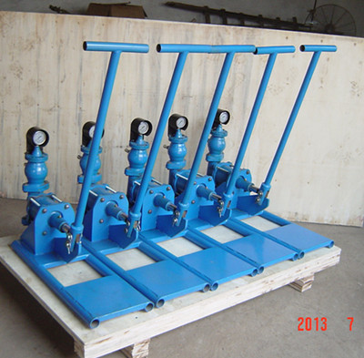 manual grout pump