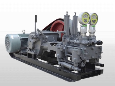 Double hydraulic grout pump