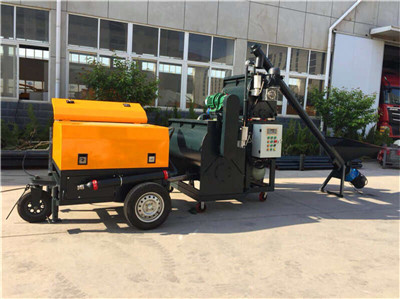 lightweight concrete machine for house roof