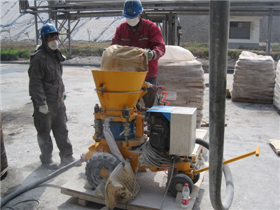 portable shotcrete machine
