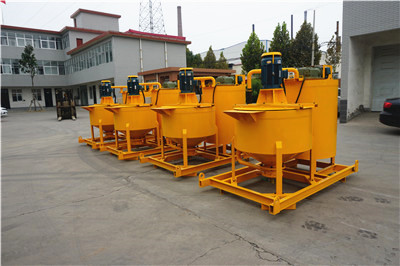 cement grout mixer machine