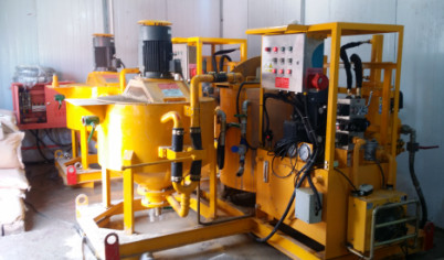 bentonite mixing and pumping machine for build tunnel